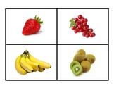 Fruit Photo Flashcards