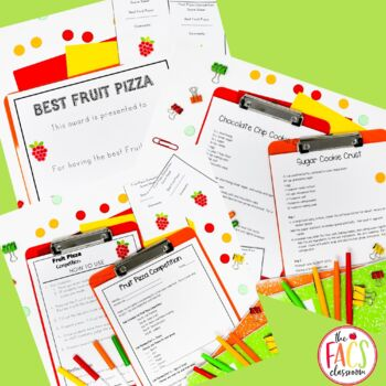 Fruit Pizza Competition