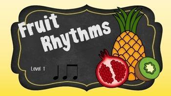 Fruit Rhythms Level 1 Bundle
