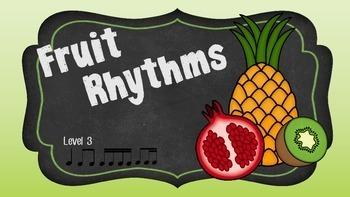 Fruit Rhythms Level 3 Bundle