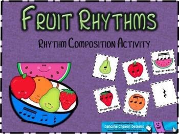 Fruit Rhythms: Rhythm Composition Activity