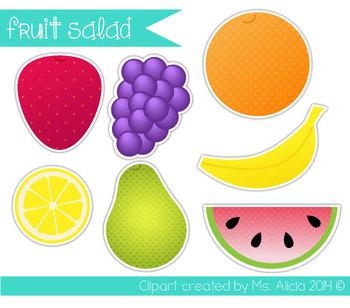 Fruit Salad Clipart