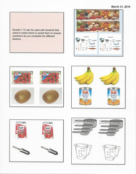 Special Needs Cooking Unit- Fruit Salad