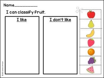 Fruit Salad Emergent Reader Book {Young Readers, ESL, EFL}