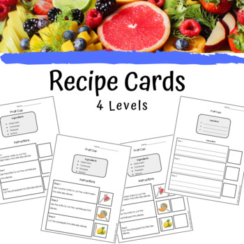 Fruit Salad/ Fruit Cup Visual Recipe Differentiated