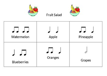 Fruit Salad Rhythm