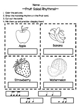 Fruit Salad Rhythms