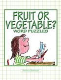 Fruit or Vegetable? Puzzles ★ FREEBIE ★