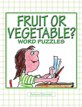 Fruit or Vegetable? Puzzles ★ FREEBIE ★