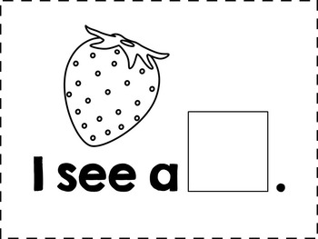 Fruit Sentence Completion Book