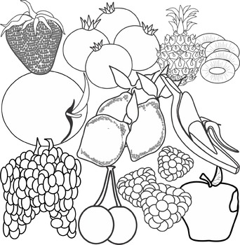 Fruit Series I Clip Art