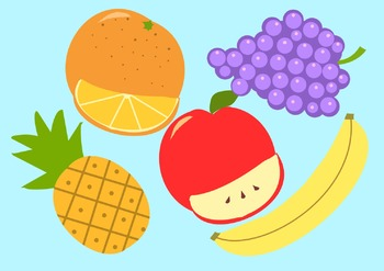 Fruit Set Clip Art