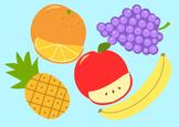 Fruit Set Clip Art