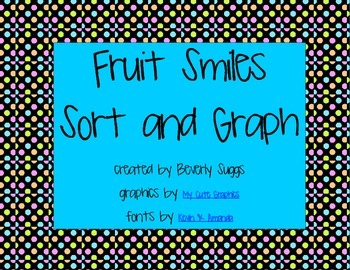 Fruit Smiles Sort and Graph Printables