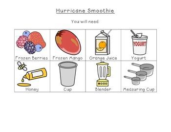 Fruit Smoothie Visual Recipe