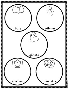 Fruit Snack Halloween Graph and Sort