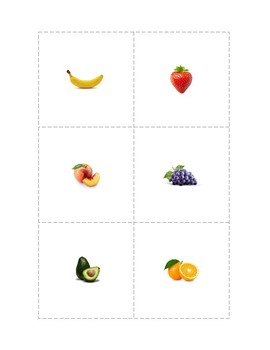 Fruit - Sorting by Size with Real Pictures