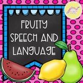 Fruit Speech and Language Unit