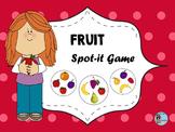 Fruit Spot-it game / Jeu Spot-it des fruits