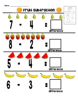Fruit Subtraction