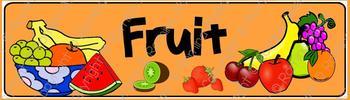 Fruit Theme Banner