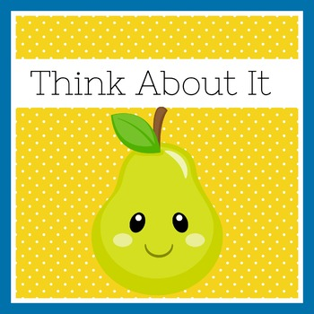 Fruit Themed Classroom | Fruit Theme | Behavior Chart