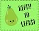 Fruit Themed Behavior Clip Chart