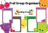 Fruit Themed Group Organiser