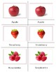 Fruit: Three Part Cards