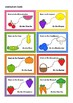 Fruit & Vegetable BeeBot Play Mat & Instruction movement cards. Bee Bot