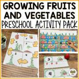 Growing Fruit and Vegetable Preschool Math and Literacy Centers