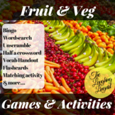 Fruit & Veg: 8 ESL Games and Activities Bundle incl. Bingo