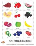 FOOD - Fruit & Veggie Bingo