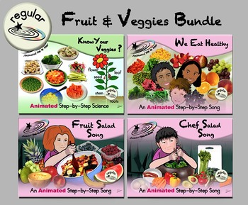 Fruit & Veggies Bundle - Regular