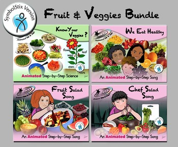 Fruit & Veggies Bundle - SymbolStix