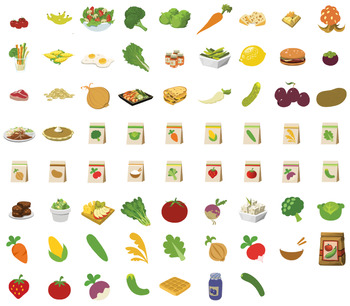 Fruit Veggies And Food Clip Art Vegetables And Seeds Aac Or