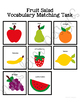 Fruit Vocabulary Matching Folder Game for Early Childhood