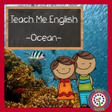 Ocean Vocabulary in English - Great For ESL, Newcomers, and Dual Language