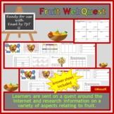 Fruit WebQuest