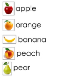 Fruit Word Wall