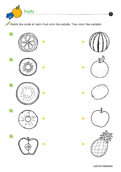 Fruit Worksheets / Activities *Printables*