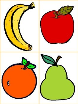 Fruit activities for Preschool ELA