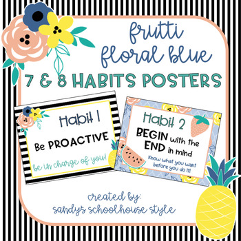 Fruit and Floral 7 & 8 Habits Posters
