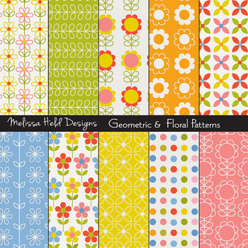 Floral Geometric Patterns