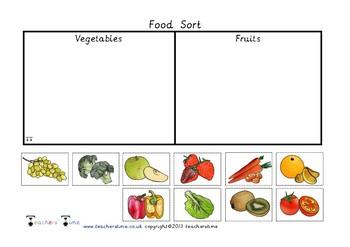 Fruit and Veg Sort