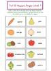 Fruit and Veggie Bingo