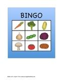 Fruit and Vegetable Bingo Freebie