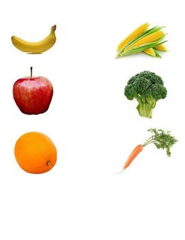 Fruit and Vegetable Categorization