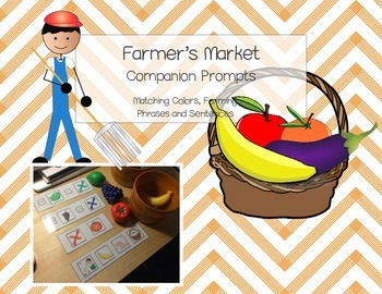 Fruit and Vegetable Color Match: Sentences and Phrases
