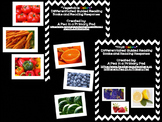 """""""Fruit and Vegetable Colors"""" Guided Reading and """"Color Words"""" Bundle"""